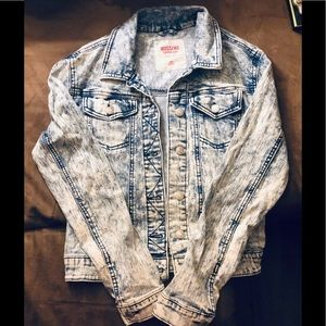 Mossimo Supply Co acid wash jean jacket